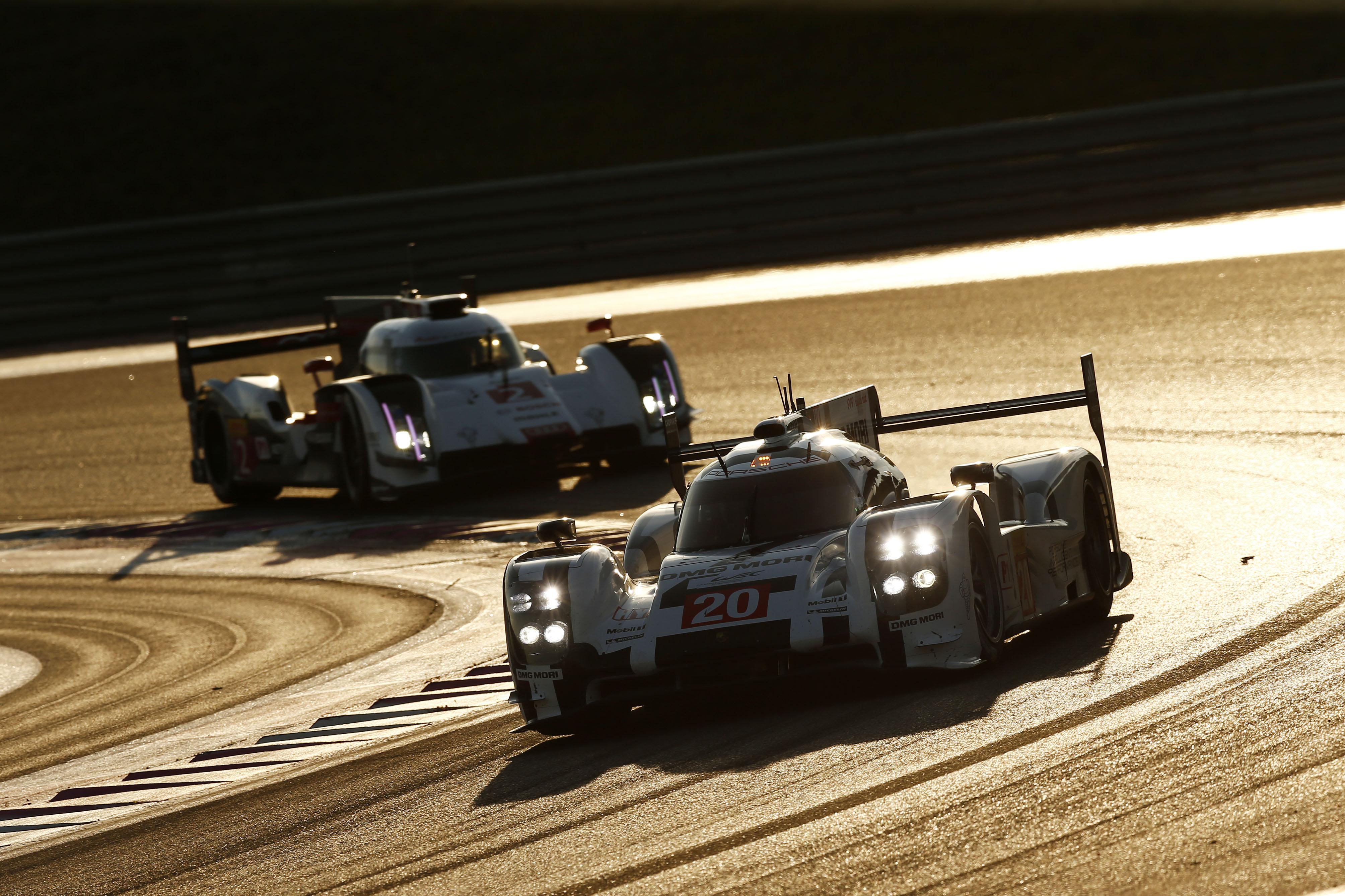 Porsche 919 Hybrid, Porsche Team: Timo Bernhard, Mark Webber, Brandon Hartley