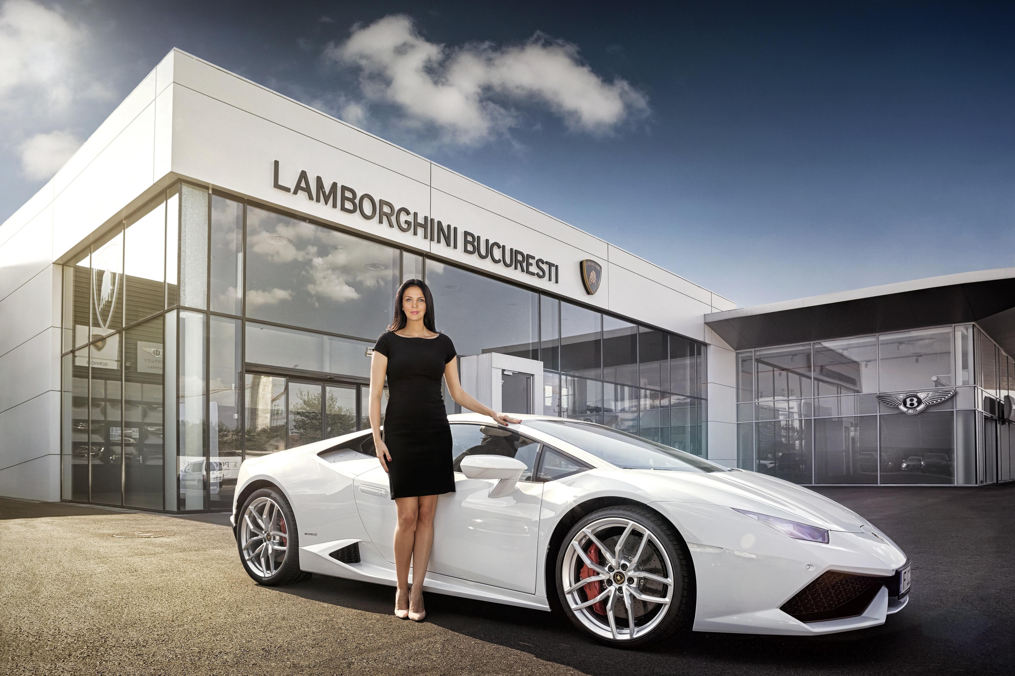 Mihaela Tudorică, Brand Manager Bentley și Lamborghini