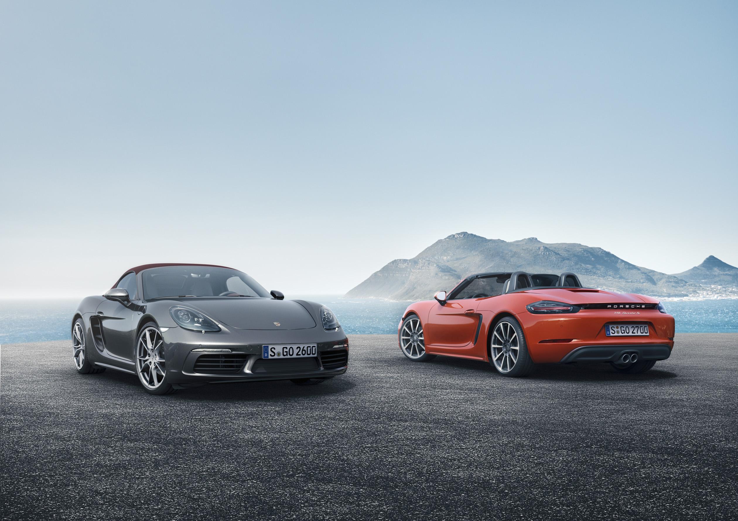 Porsche 718 Boxster și 718 Boxster S. Credit foto: Porsche