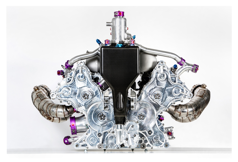 Motorul modelului Porsche 919 Hybrid. Credit foto: porsche.com
