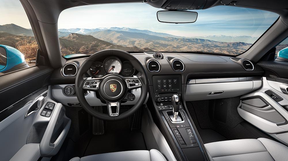 Interiorul noului 718 Cayman. Foto: Porsche
