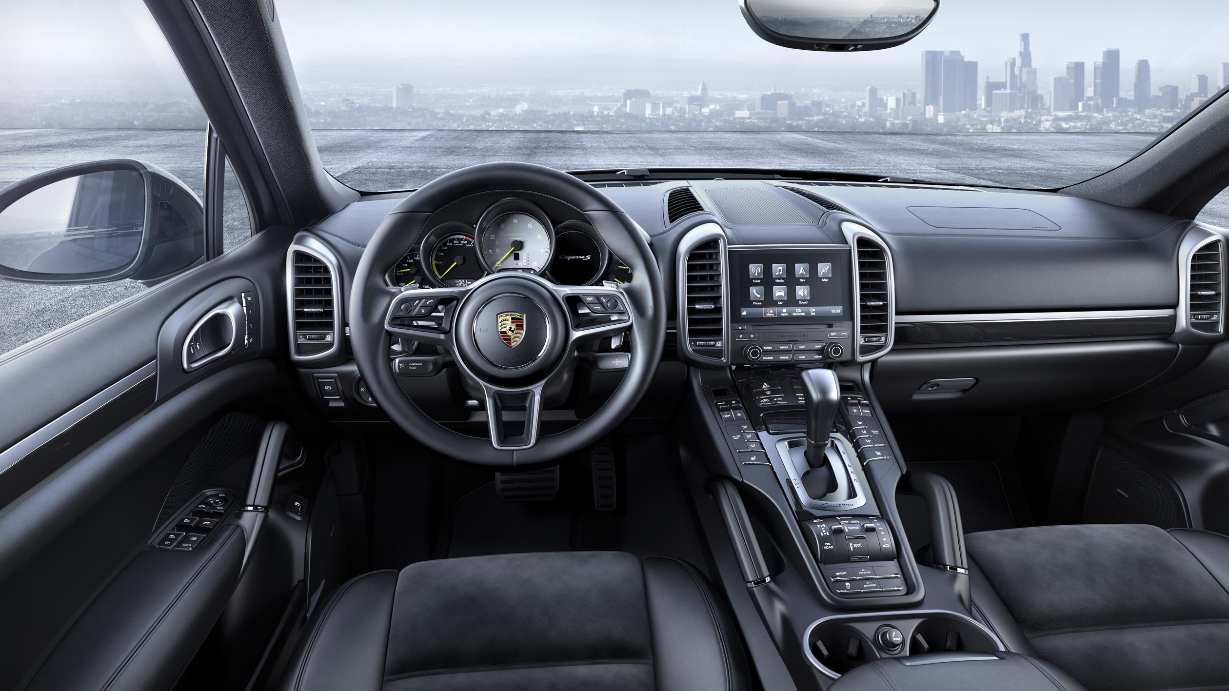 Porsche Cayenne Platinum Edition: interior Cayenne S E-Hybrid. Foto: Porsche