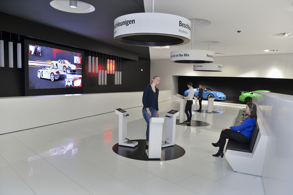 "Sistemul ""Porsche in the Mix"". Foto: porsche.de"