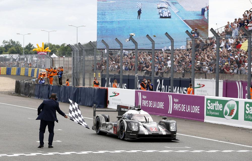 Porsche 919 Hybrid, Porsche Team: Romain Dumas, Neel Jani, Marc Lieb. Foto: Porsche