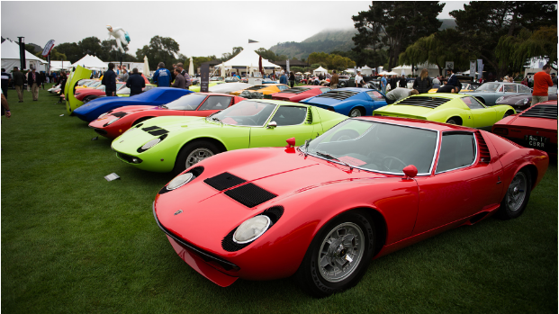 Lamborghini Miura, la Monterey Car Week 2016. Foto: lamborghini.com
