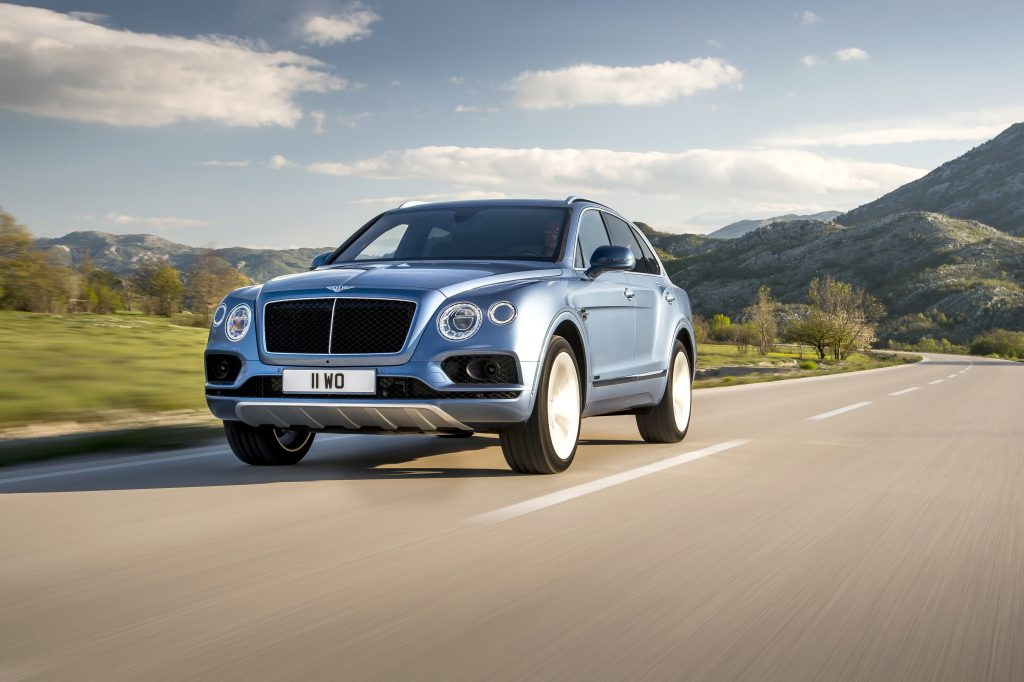 Noul Bentley Bentayga Diesel. Foto: Bentley Motors
