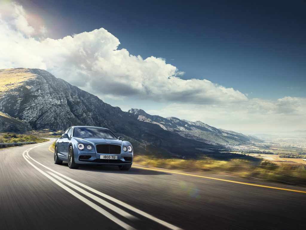 Noul Bentley Flying Spur W12 S. Foto: bentleymedia.com
