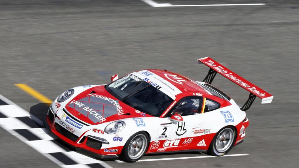 Campionul Sven Müller. Foto: Porsche