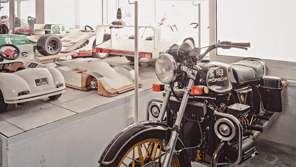 Singura motocicletă produsă de un inginer Porsche. Foto: Porsche