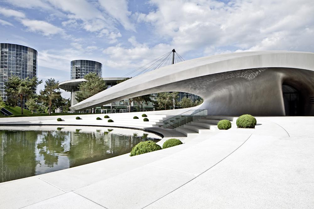 Acoperișul pavilionului Porsche. Foto: Porsche