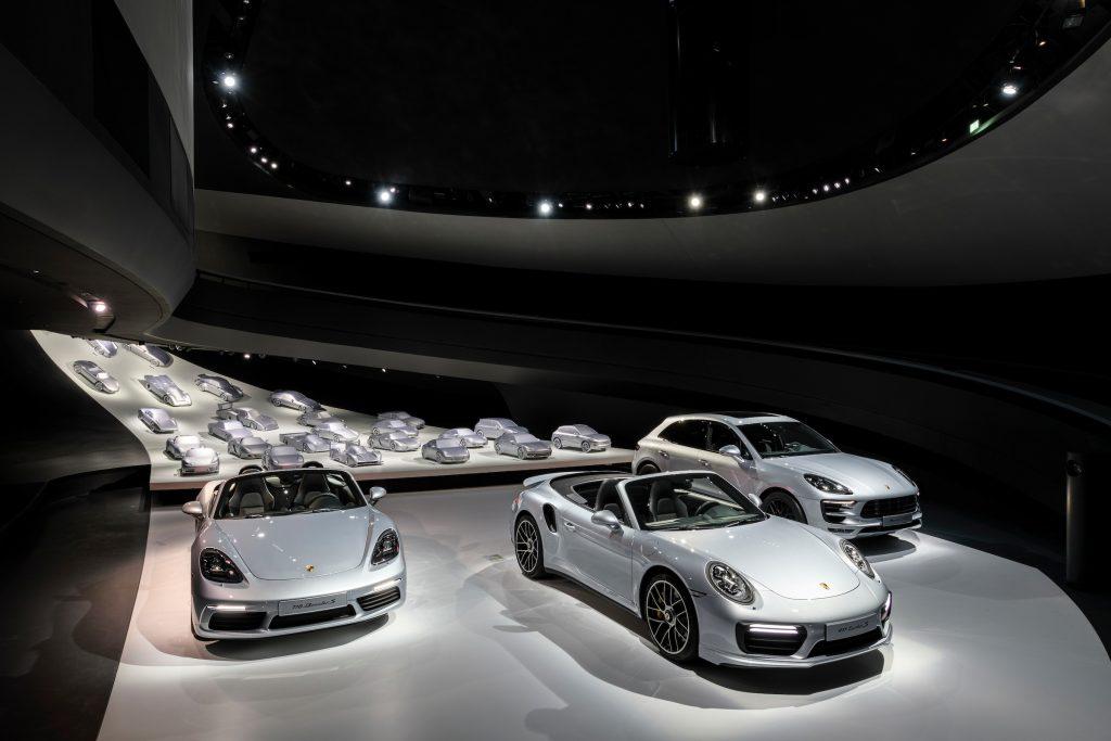 Noul Pavilion Porsche. Foto: Porsche