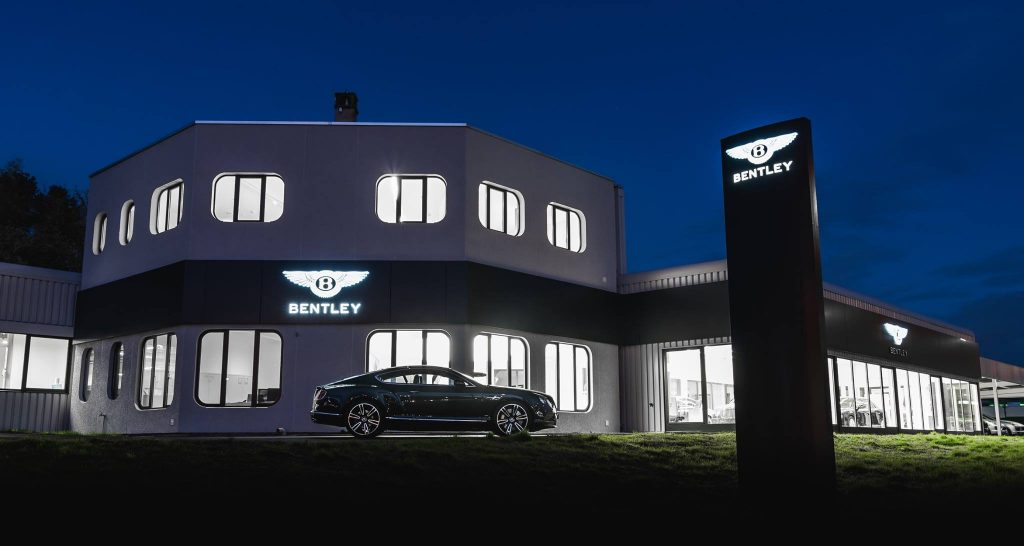 Noul showroom Bentley, Foto: Bentley