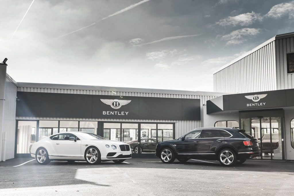 Noul showroom Bentley. Foto: Bentley