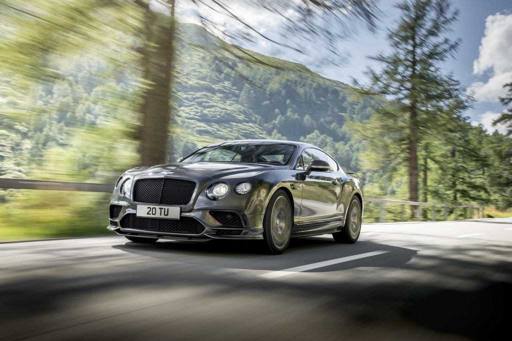Bentley Continental GT Supersports. Foto: Bentley Motors