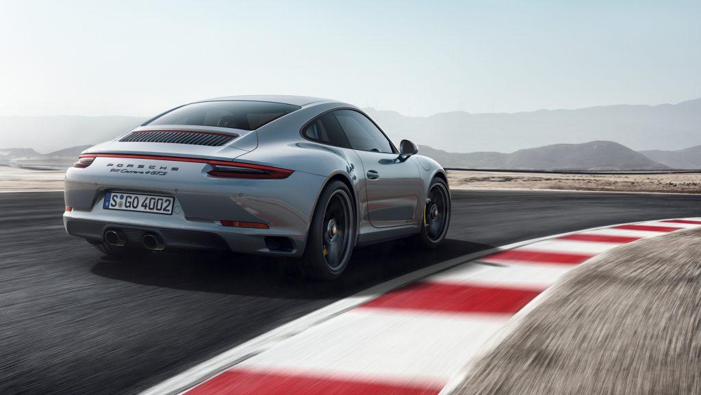 Porsche 911 Carrera 4 GTS coupé. Foto: Porsche