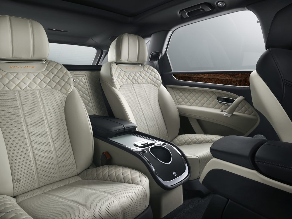 Interior Bentayga Mulliner. Foto: Bentley Motors