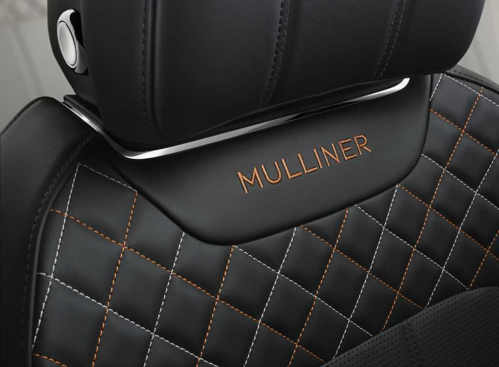 Interiorul Bentayga Mulliner. Foto: Bentley Motors