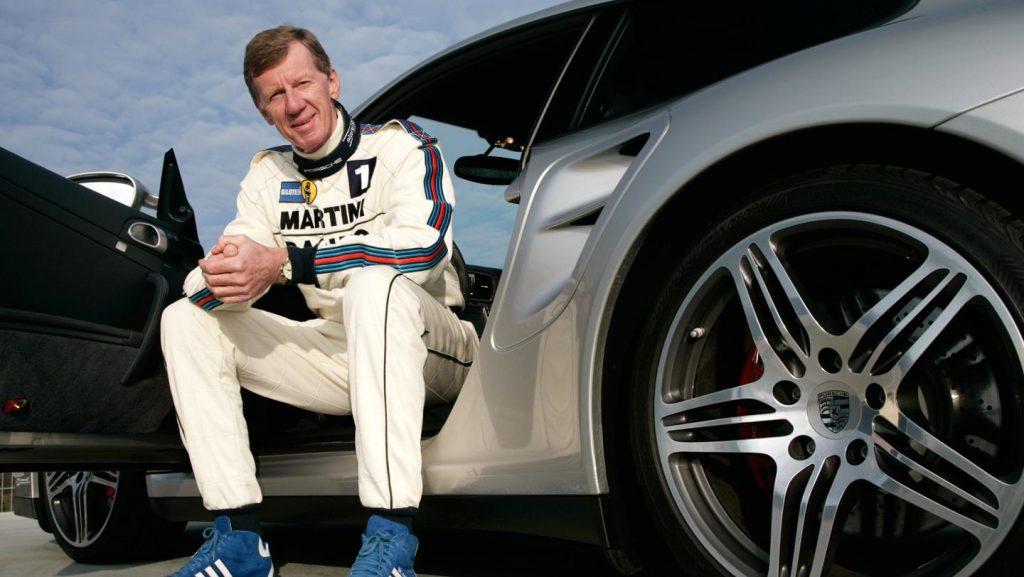 Walter Röhrl. Foto: Porsche