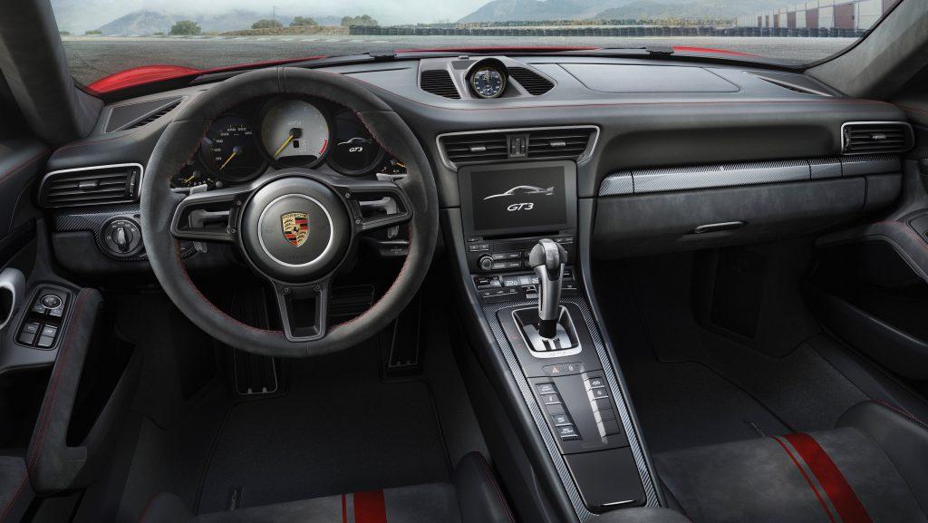 Interiorul noului Porsche 911 GT3. Foto: Porsche