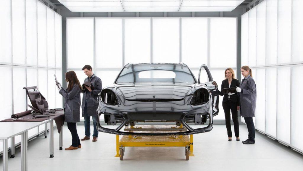 Departamentul Corporate Quality. Foto: Porsche