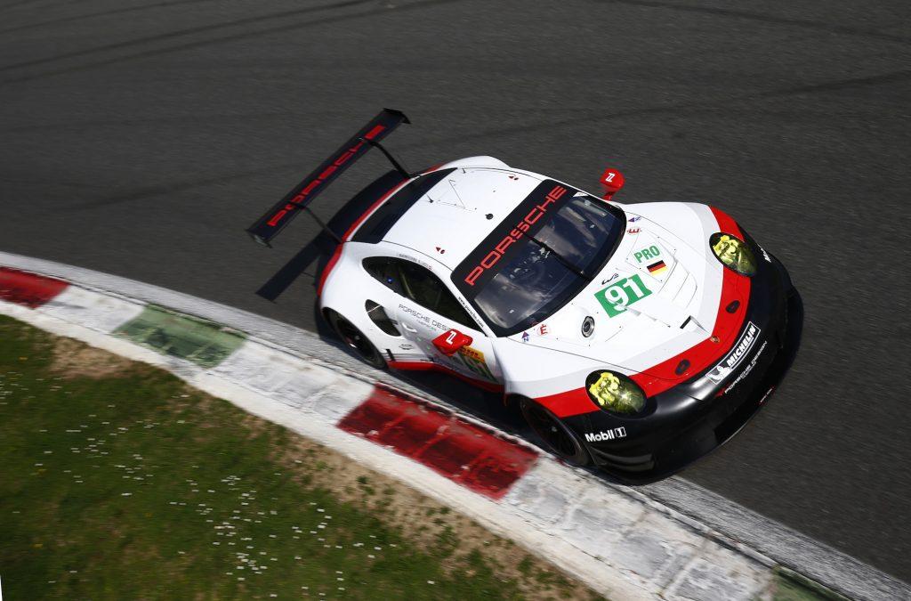 Porsche 911 RSR. Foto: Porsche