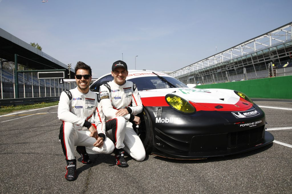 Frederic Makowiecki, Richard Lietz. Foto: Porsche