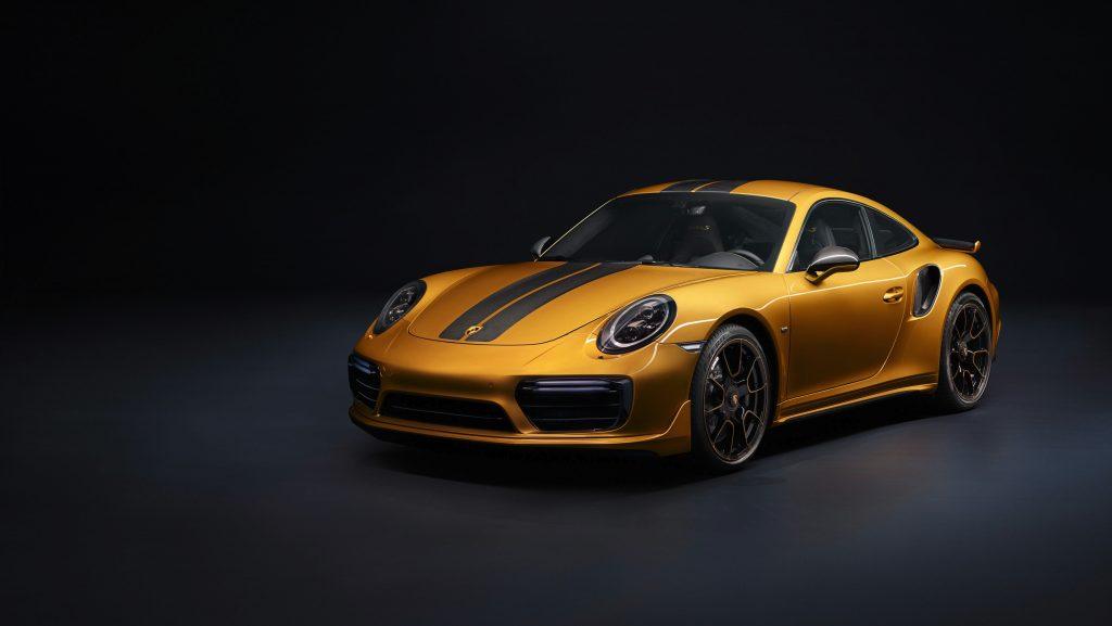 Porsche 911 Turbo S Exclusive Series. Foto: Porsche