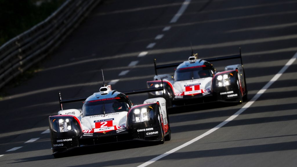 Porsche 919 Hybrid, Porsche LMP Team: Timo Bernhard, Earl Bamber, Brendon Hartley, Neel Jani, Nick Tandy, Andre Lotterer