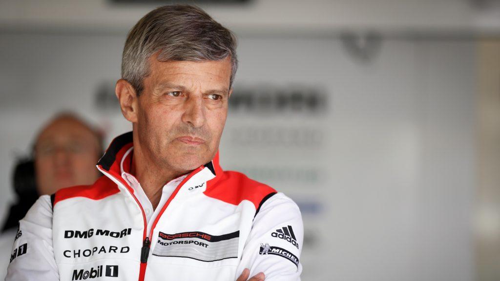 Fritz Enzinger (Leiter Porsche LMP)