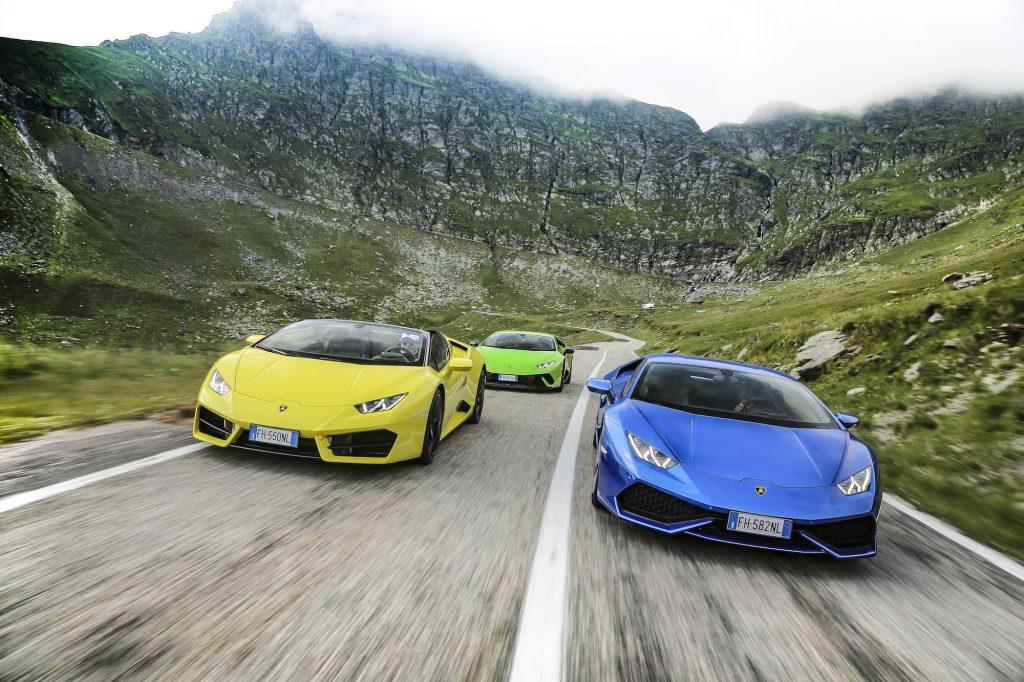 Transylvania Tour. Foto: Lamborghini