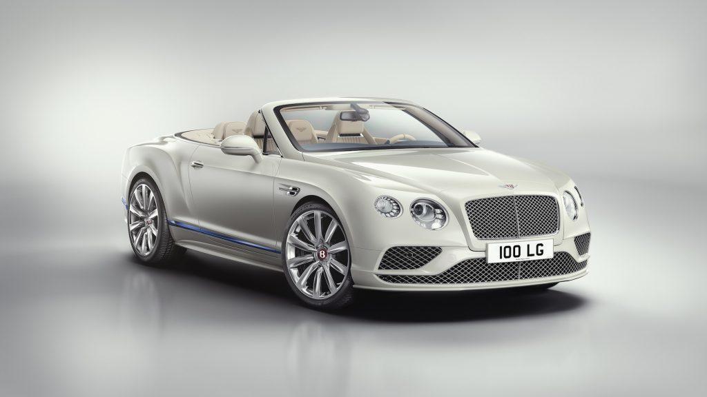 Bentley Continental GT Convertible Galene Edition by Mulliner. Foto: Bentley Motors
