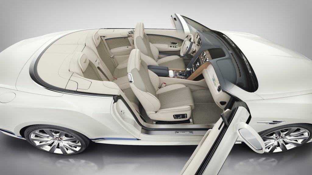Interiorul noului Bentley Continental GT Convertible Galene Edition by Mulliner. Foto: Bentley Motors