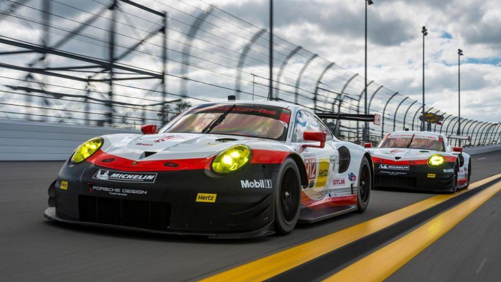 Porsche 911 RSR in Daytona. Foto: Porsche