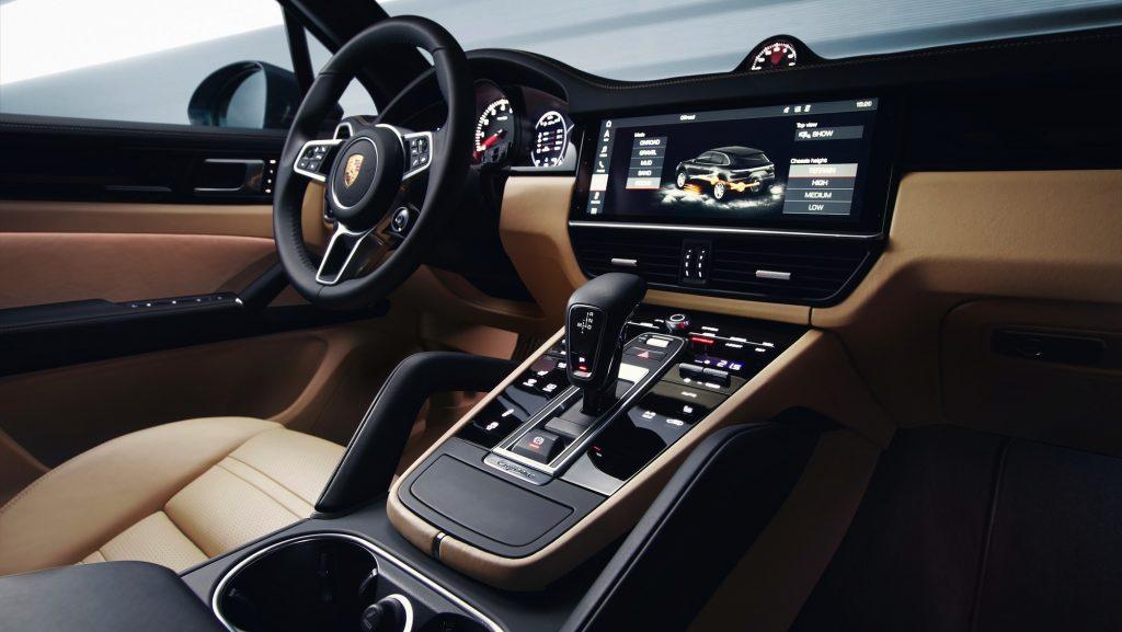 Interiorul noului Porsche Cayenne. Foto: Porsche