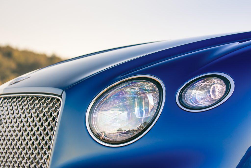 Farurile noului Bentley Continental GT. Foto: Bentley Motors