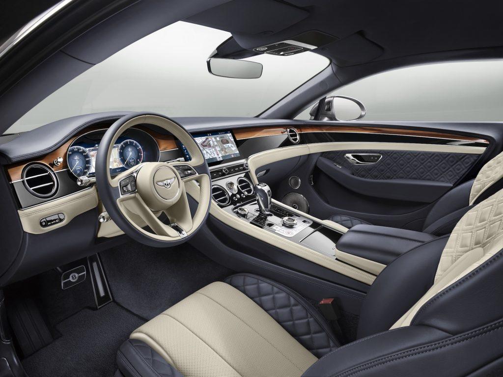 Interiorul noului Bentley Continental GT. Foto: Bentley Motors
