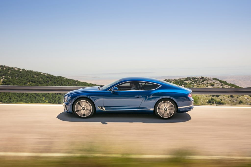 Noul Bentley Continental GT. Foto: Bentley Motors