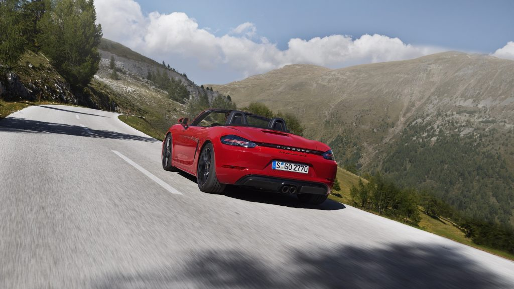 Noul Porsche 718 Boxster GTS . Foto: Porsche