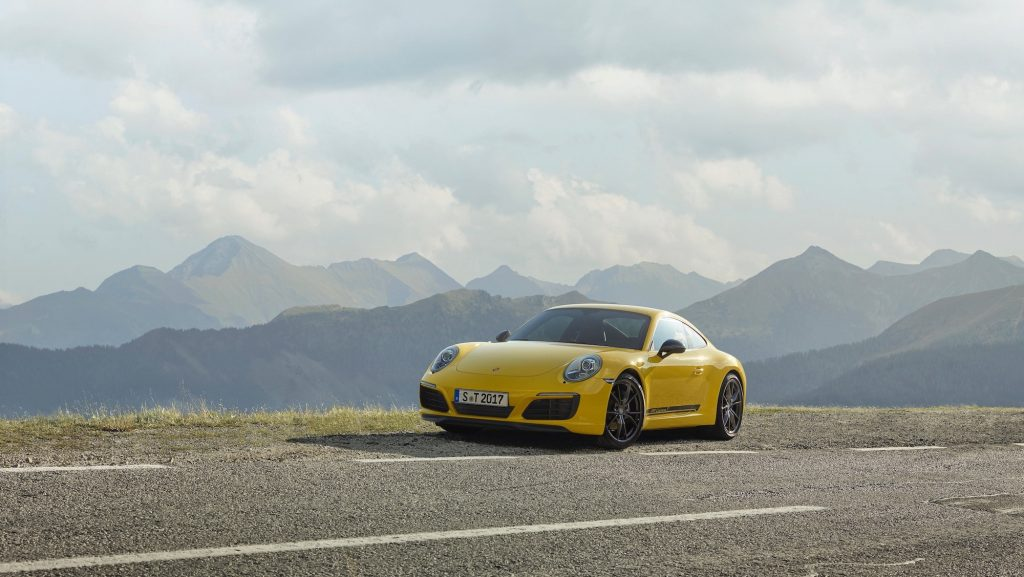 Noul 911 Carrera T. Foto: Porsche