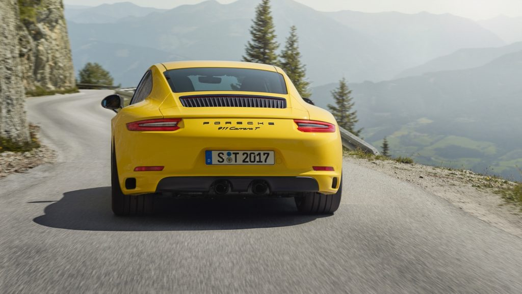 Porsche 911 Carrera T. Foto: Porsche