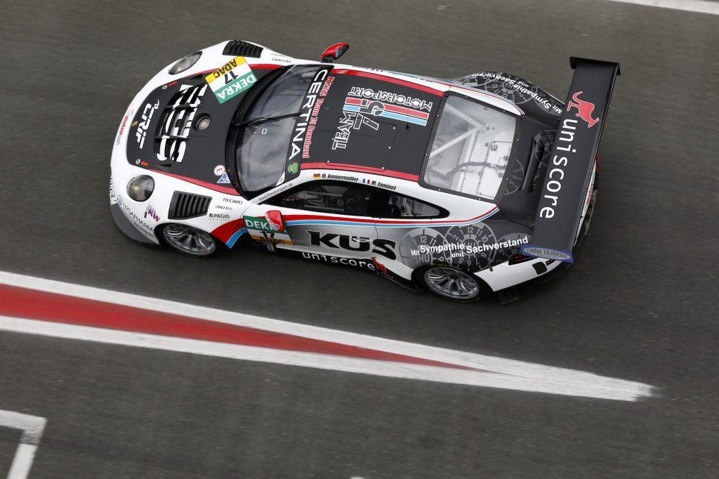Porsche 911 GT3 R: Team 75 Bernhard. Foto: Porsche