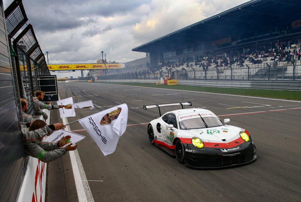 Porsche 911 RSR (92), Porsche GT Team: Michael Christensen, Kevin Estre. Foto: Porsche
