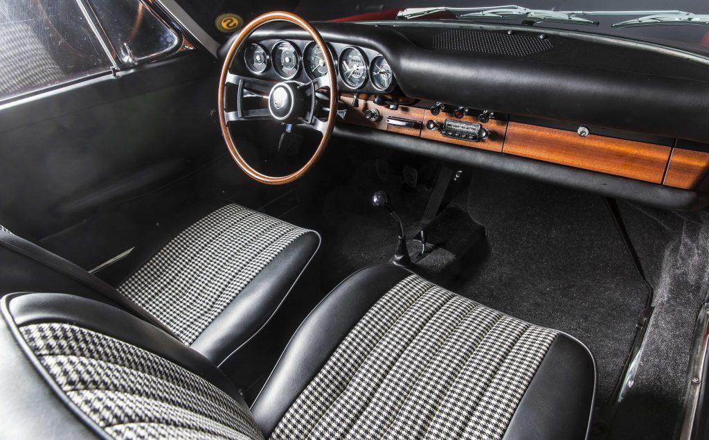 Interiorul 911 (901 No. 57) după restaurare. Foto: Porsche