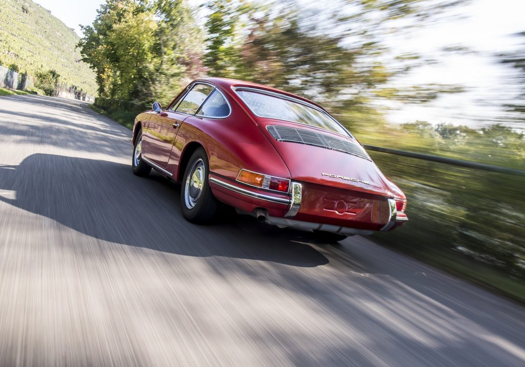 911 (901 No. 57) după restaurare. Foto: Porsche