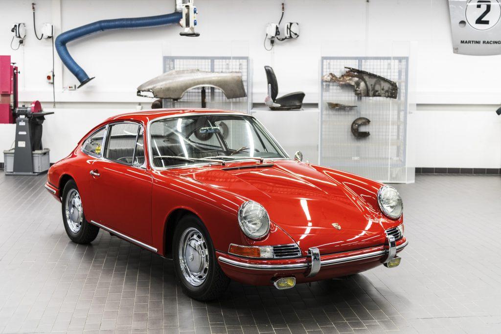 911 (901 No. 57). Foto: Porsche