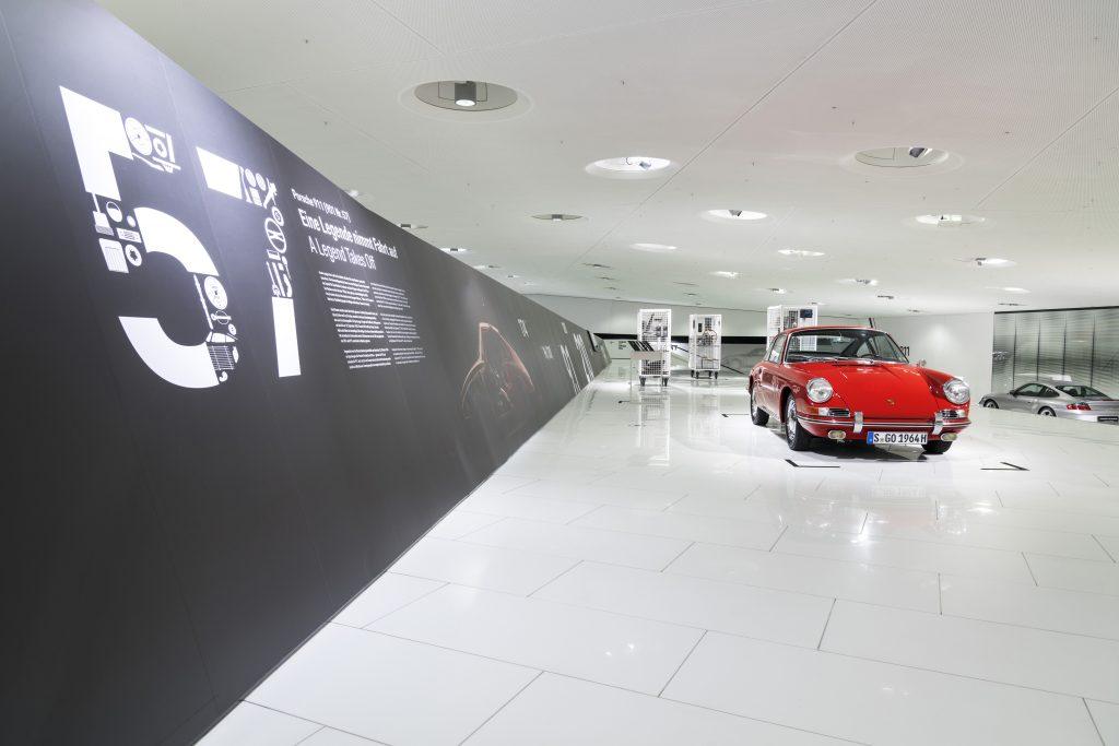 911 (901 No. 57) în Muzeul Porsche. Foto: Porsche