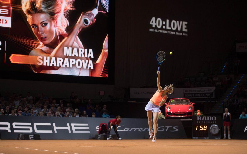 Maria Sharapova. Foto: Porsche