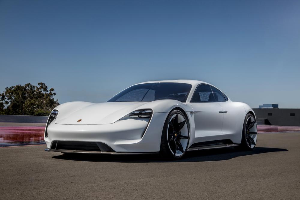Porsche Taycan (Mission E). Foto: Porsche