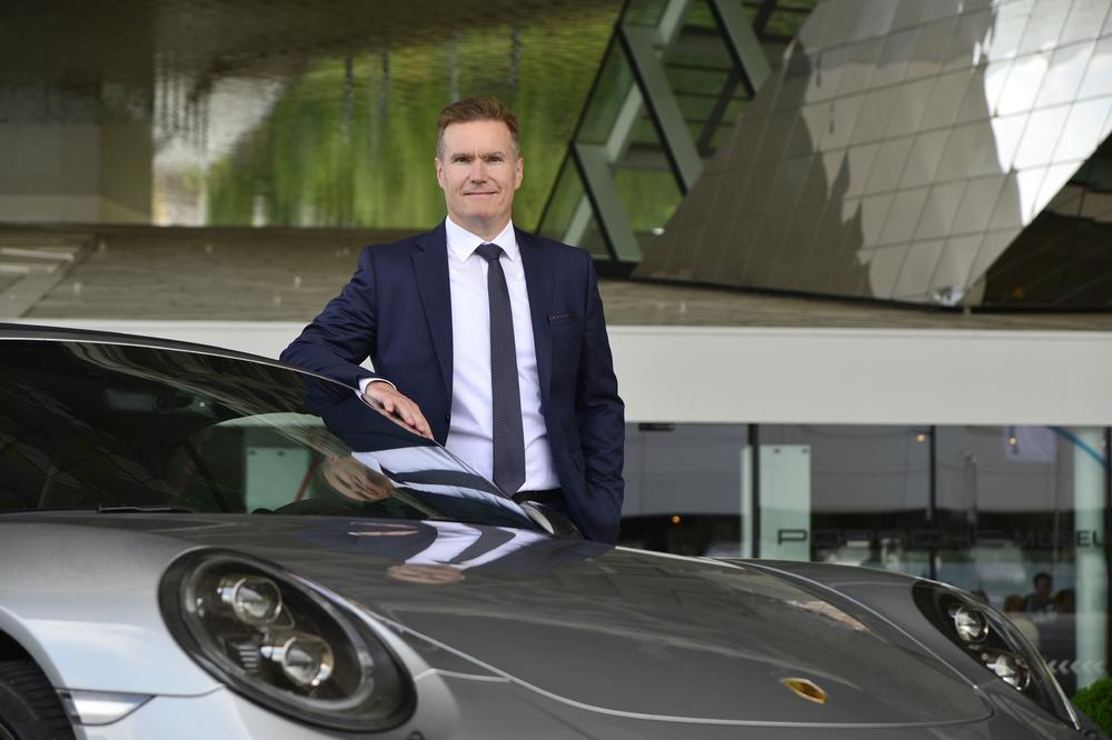 Michael Müller. Foto: Porsche