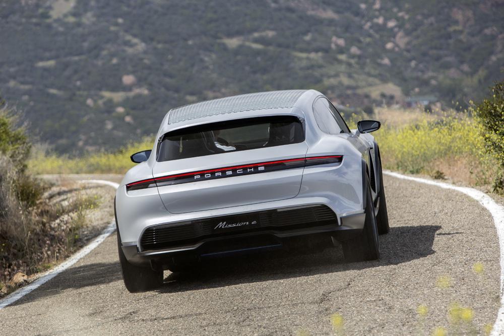 Mission E Cross Turismo. Foto: Porsche